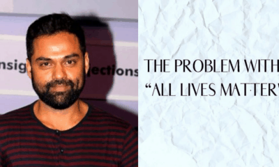 Abhay Deol All lives matter black lives matter