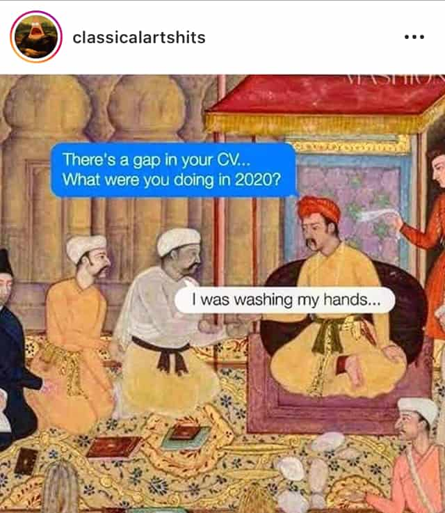 meme 4- classical art shits - wash your hands