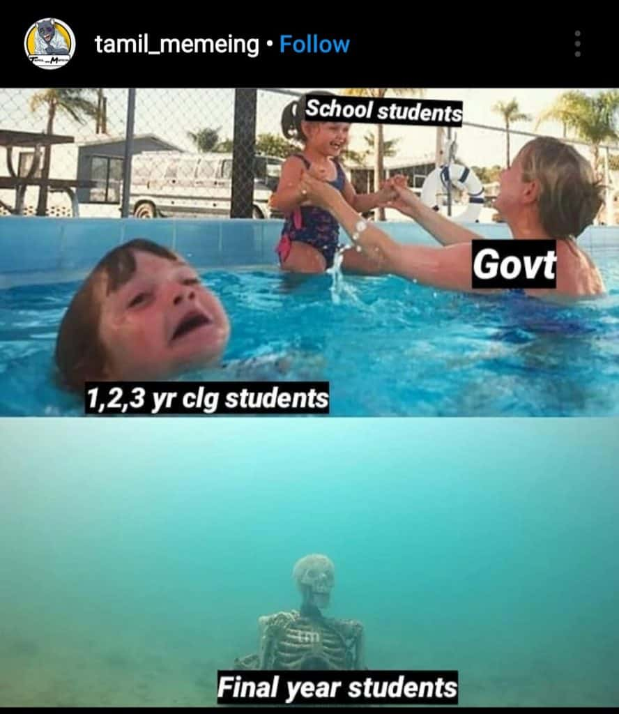Exams for final year(meme10)