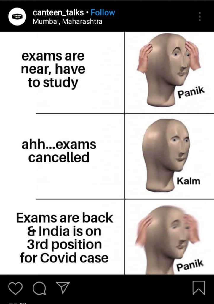 Exams for final year(meme9)
