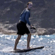 Mark Zuckerberg Surfing