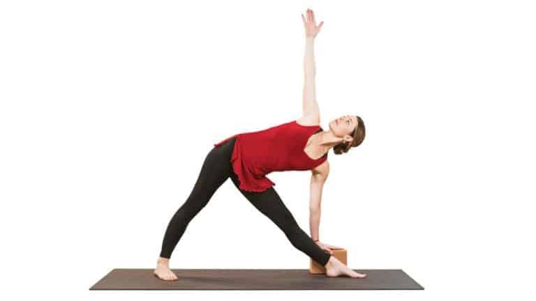 Yoga pose 3- Trikonasana