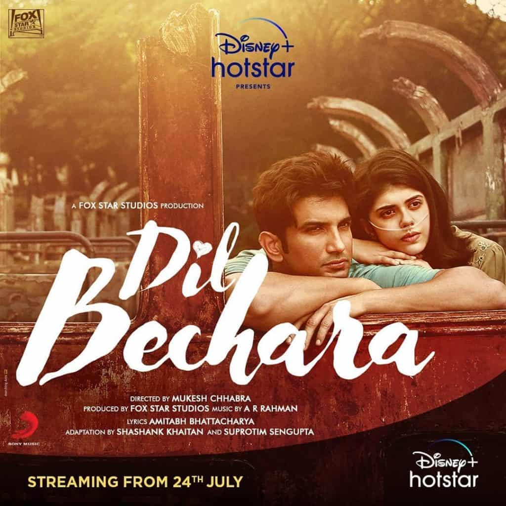 Dil Bechara (released on hotstar)