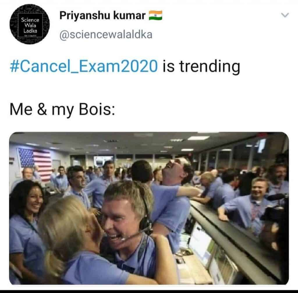 exams for final year(meme 2)