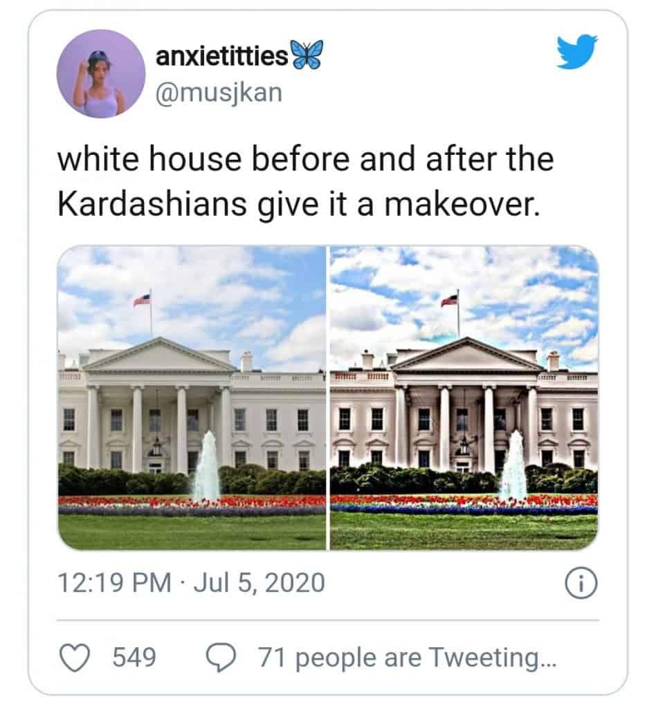 kanye west(white house makeover)