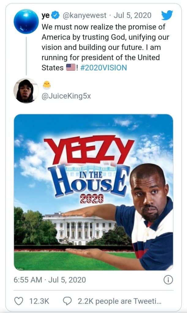 kanye west(yeezy in the house)