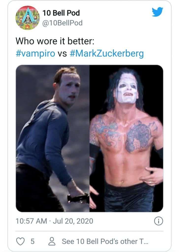 Mark Zuckerberg Surfing (vampiro)