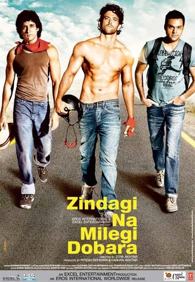 timeless Bollywood movies( znmd)