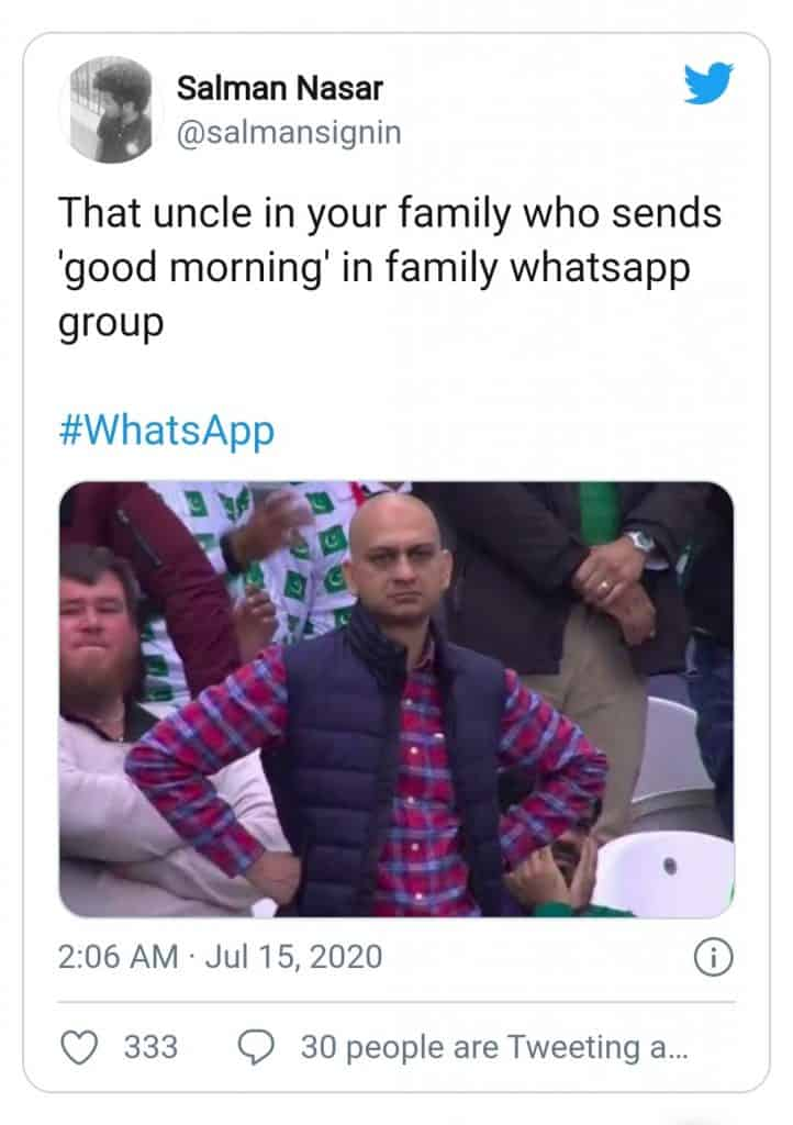 whatsapp server down(relatives who send gpod morning messages 2)