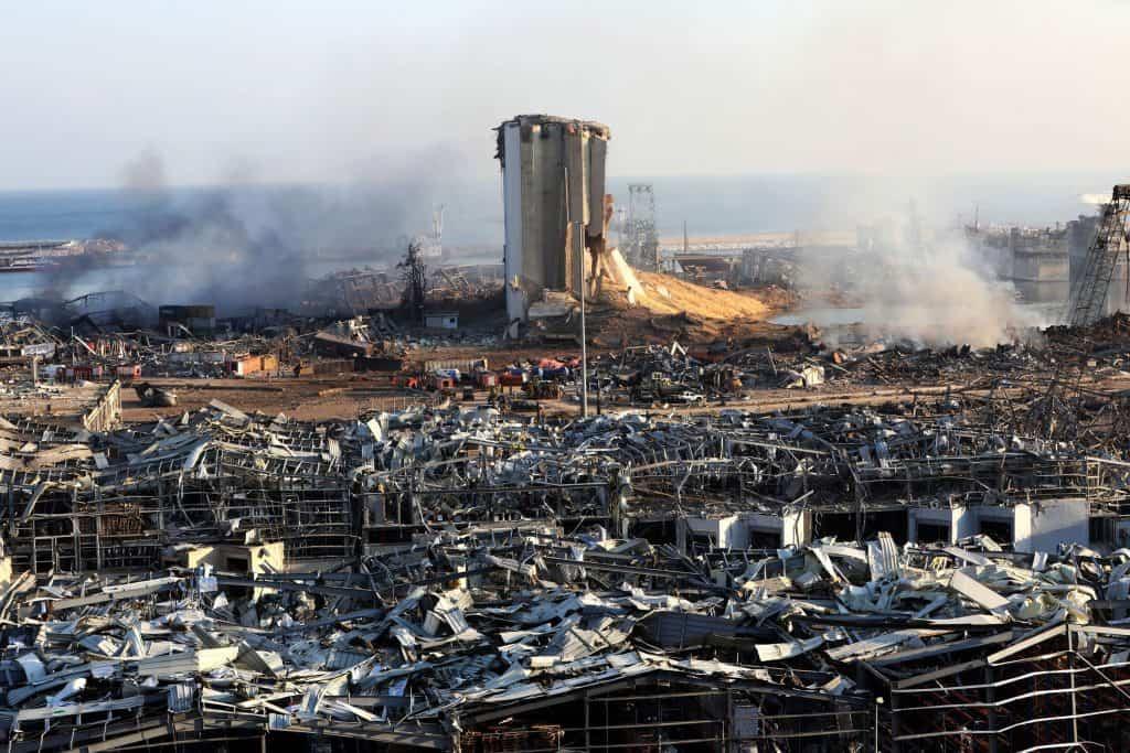 Beirut devastation(destruction)