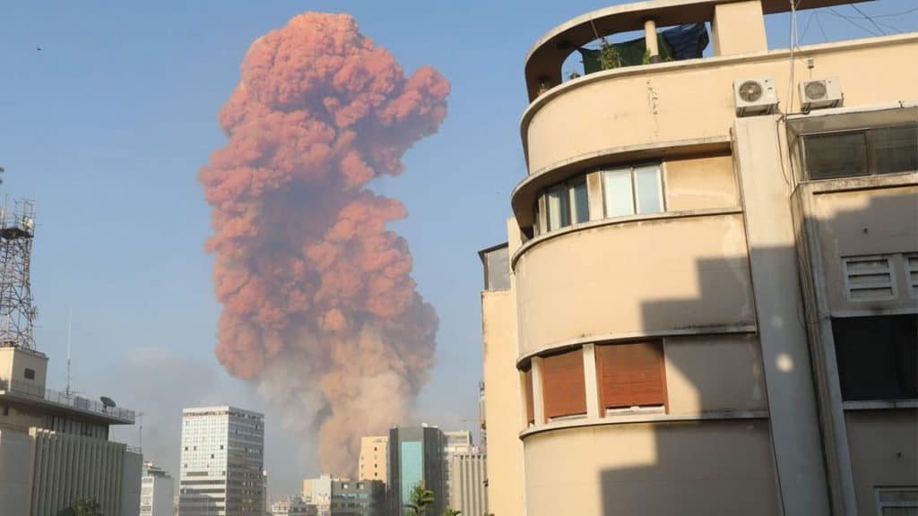 Beirut devastation (explosion)