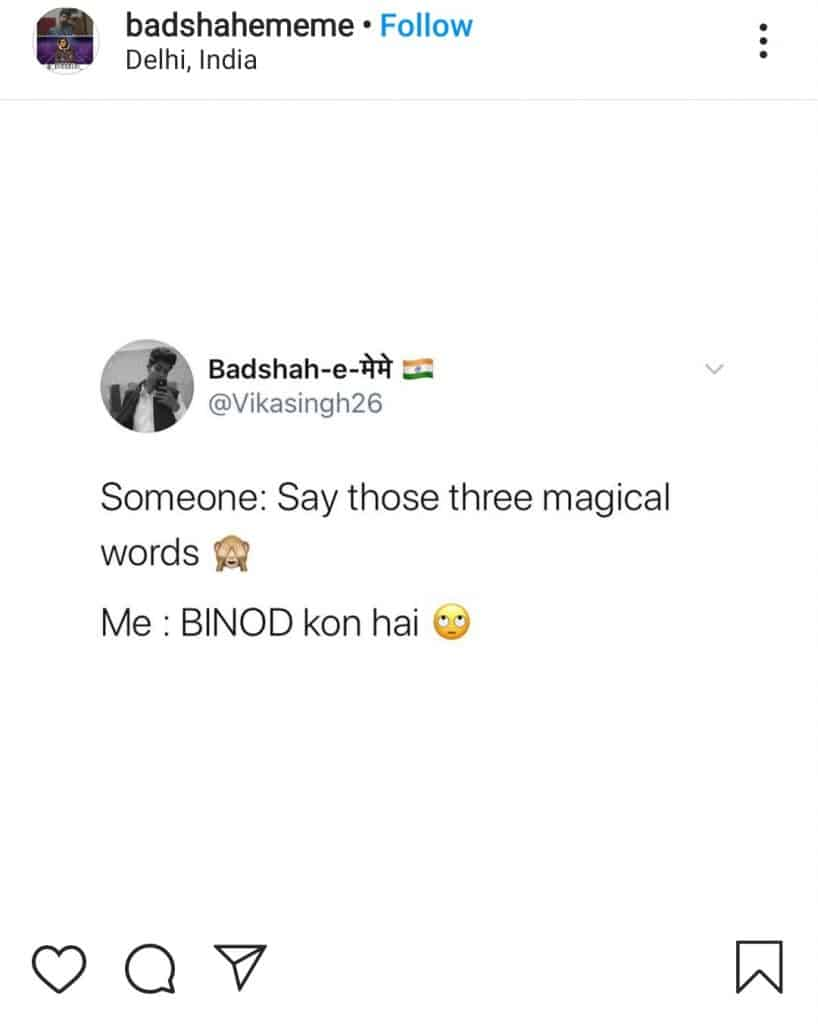 everything is binod( who binod is 2