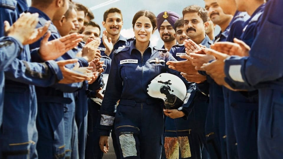 gunjan Saxena review (as IAF officer