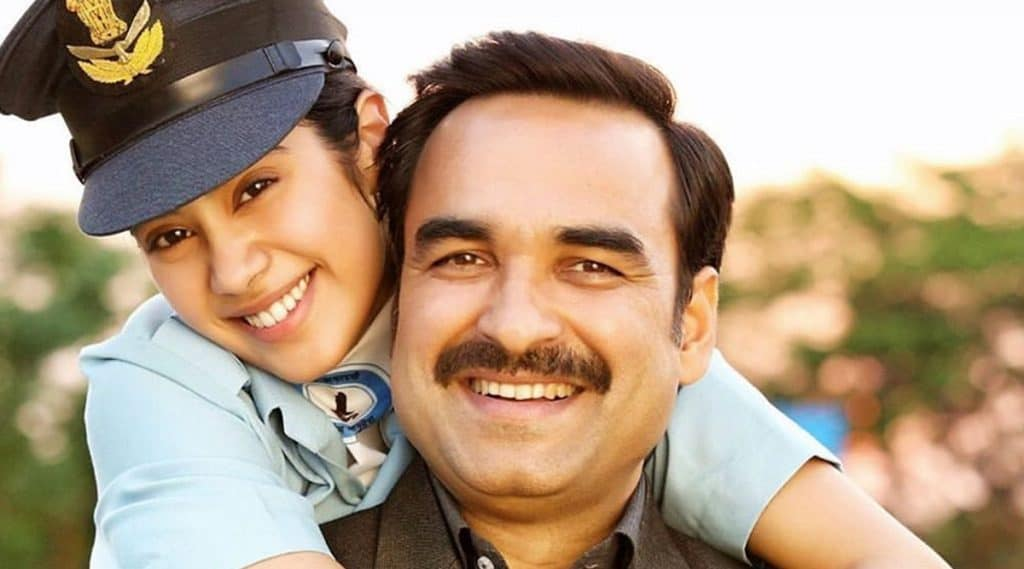 gunjan Saxena review(father and daughter