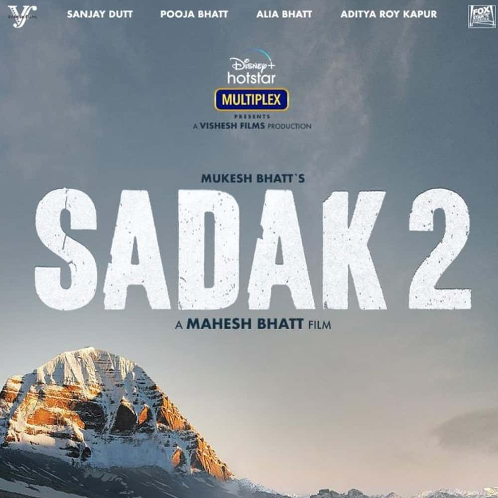 the trailer of sadak 2 (poster