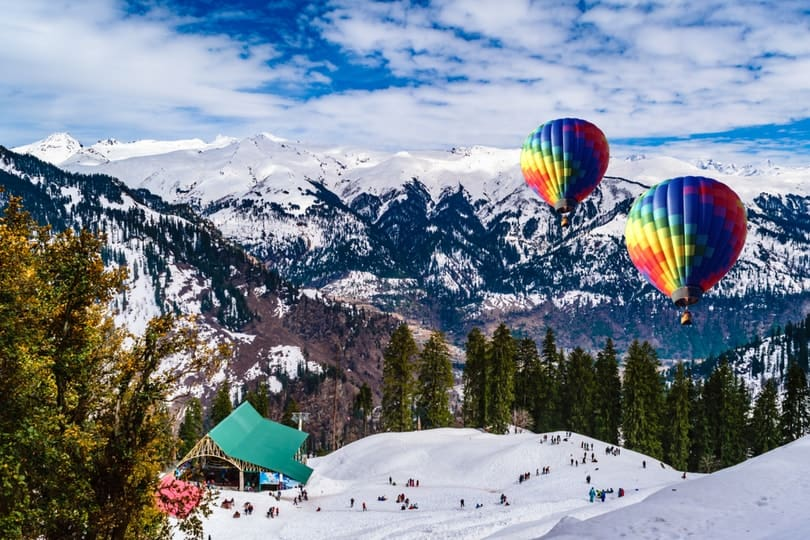 top holiday destinations (Manali)