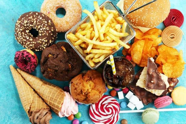 toxic habits(excessive junkfood