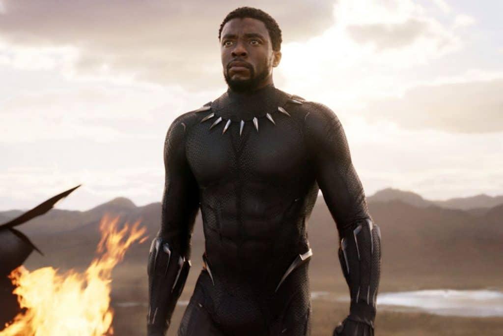 Chadwick boseman(black panther