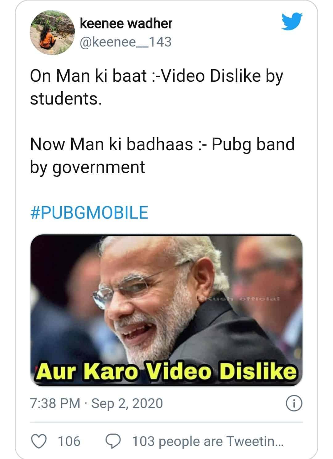 PUBG ban (man ki badhas