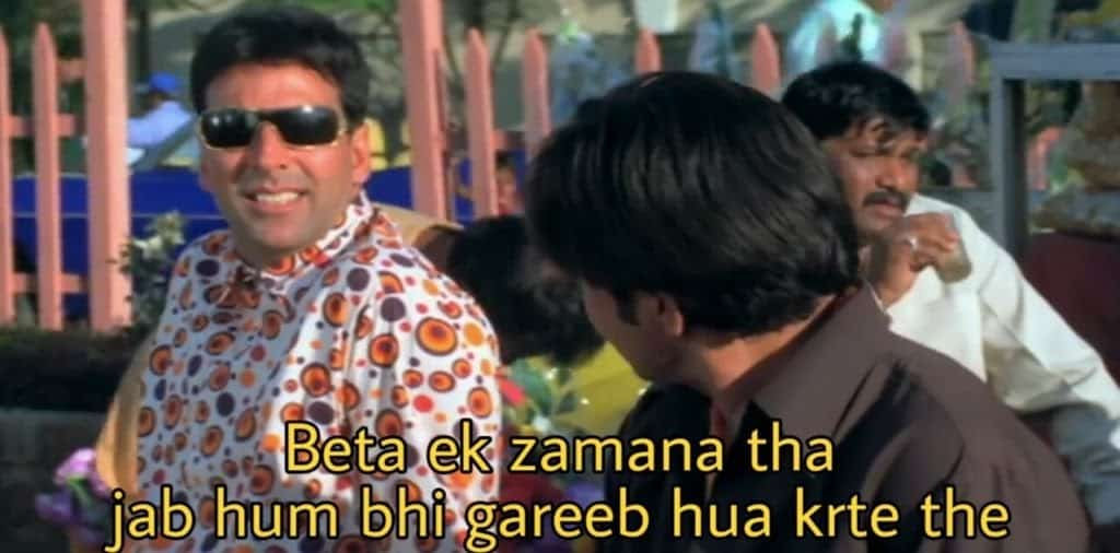 hera pheri series as meme template (beta ek zamana tha