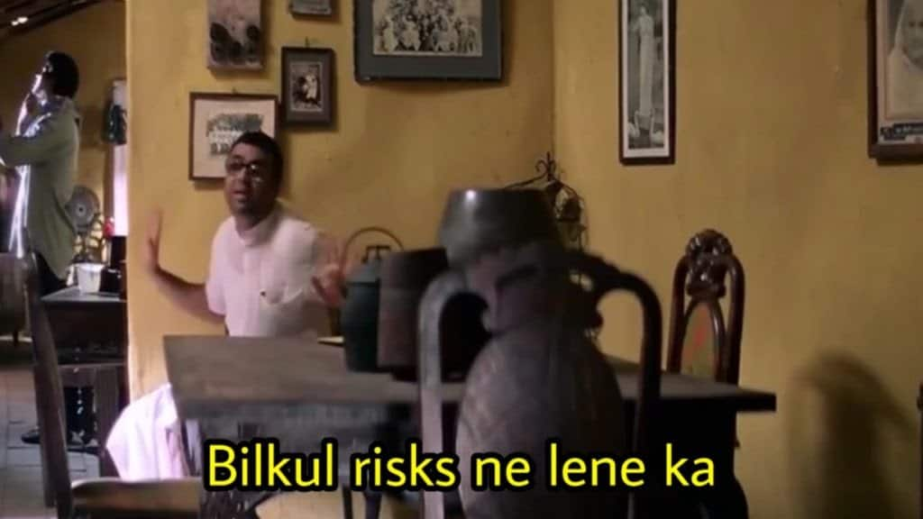 hera pheri series as meme template (billul risks ni lene ka