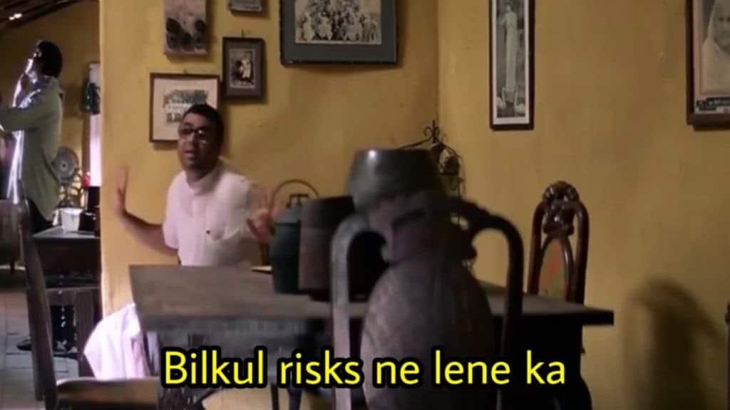hera pheri series as meme template (billul risks ni lene ka