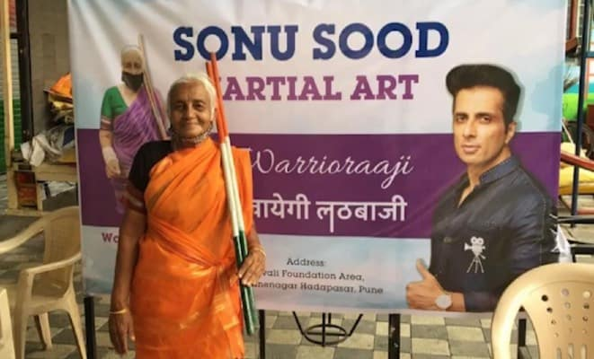 warrior aaji ( new school in name of sonu sood